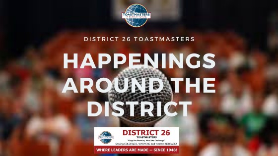 Happenings Around the District by Jacqueline Smith, PQD