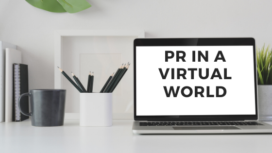PR in a Virtual World by Trixie Hunter-Merrill